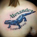 фото тату саламандра от 07.10.2017 №031 - tattoo salamander - tatufoto.com