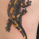 фото тату саламандра от 07.10.2017 №044 - tattoo salamander - tatufoto.com