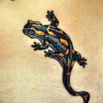 фото тату саламандра от 07.10.2017 №048 - tattoo salamander - tatufoto.com