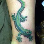 фото тату саламандра от 07.10.2017 №065 - tattoo salamander - tatufoto.com