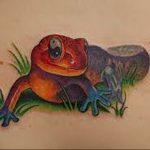 фото тату саламандра от 07.10.2017 №070 - tattoo salamander - tatufoto.com