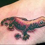 фото тату саламандра от 07.10.2017 №073 - tattoo salamander - tatufoto.com