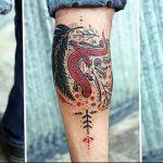 фото тату саламандра от 07.10.2017 №109 - tattoo salamander - tatufoto.com