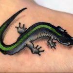 фото тату саламандра от 07.10.2017 №114 - tattoo salamander - tatufoto.com