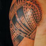 фото тату самоа от 10.10.2017 №002 - Samoan tattoo - tatufoto.com