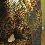фото тату самоа от 10.10.2017 №004 - Samoan tattoo - tatufoto.com