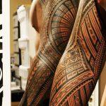 фото тату самоа от 10.10.2017 №007 - Samoan tattoo - tatufoto.com 123542523