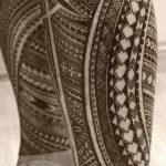фото тату самоа от 10.10.2017 №007 - Samoan tattoo - tatufoto.com 123542523 325