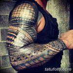 фото тату самоа от 10.10.2017 №012 - Samoan tattoo - tatufoto.com