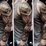 фото тату самоа от 10.10.2017 №013 - Samoan tattoo - tatufoto.com