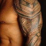 фото тату самоа от 10.10.2017 №014 - Samoan tattoo - tatufoto.com