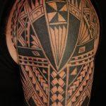фото тату самоа от 10.10.2017 №023 - Samoan tattoo - tatufoto.com