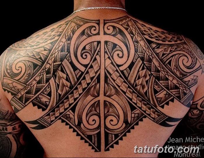 фото тату самоа от 10.10.2017 №027 - Samoan tattoo - tatufoto.com