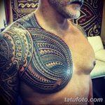 фото тату самоа от 10.10.2017 №028 - Samoan tattoo - tatufoto.com