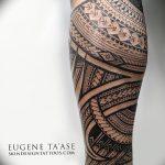 фото тату самоа от 10.10.2017 №031 - Samoan tattoo - tatufoto.com