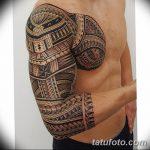 фото тату самоа от 10.10.2017 №033 - Samoan tattoo - tatufoto.com