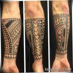 фото тату самоа от 10.10.2017 №037 - Samoan tattoo - tatufoto.com