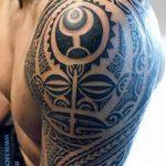 фото тату самоа от 10.10.2017 №040 - Samoan tattoo - tatufoto.com