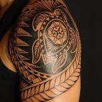фото тату самоа от 10.10.2017 №041 - Samoan tattoo - tatufoto.com