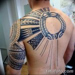 фото тату самоа от 10.10.2017 №044 - Samoan tattoo - tatufoto.com
