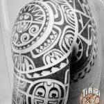 фото тату самоа от 10.10.2017 №046 - Samoan tattoo - tatufoto.com