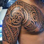 фото тату самоа от 10.10.2017 №052 - Samoan tattoo - tatufoto.com 23463745