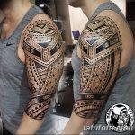фото тату самоа от 10.10.2017 №058 - Samoan tattoo - tatufoto.com