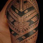 фото тату самоа от 10.10.2017 №059 - Samoan tattoo - tatufoto.com