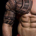 фото тату самоа от 10.10.2017 №064 - Samoan tattoo - tatufoto.com