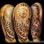 фото тату самоа от 10.10.2017 №065 - Samoan tattoo - tatufoto.com