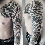 фото тату самоа от 10.10.2017 №067 - Samoan tattoo - tatufoto.com