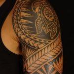 фото тату самоа от 10.10.2017 №068 - Samoan tattoo - tatufoto.com