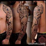 фото тату самоа от 10.10.2017 №069 - Samoan tattoo - tatufoto.com