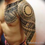 фото тату самоа от 10.10.2017 №079 - Samoan tattoo - tatufoto.com
