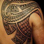фото тату самоа от 10.10.2017 №082 - Samoan tattoo - tatufoto.com