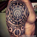 фото тату самоа от 10.10.2017 №083 - Samoan tattoo - tatufoto.com