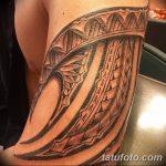 фото тату самоа от 10.10.2017 №084 - Samoan tattoo - tatufoto.com