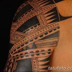 фото тату самоа от 10.10.2017 №086 - Samoan tattoo - tatufoto.com