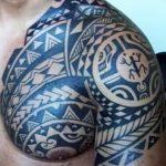 фото тату самоа от 10.10.2017 №089 - Samoan tattoo - tatufoto.com