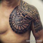фото тату самоа от 10.10.2017 №095 - Samoan tattoo - tatufoto.com