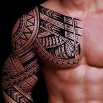 фото тату самоа от 10.10.2017 №100 - Samoan tattoo - tatufoto.com