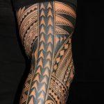 фото тату самоа от 10.10.2017 №111 - Samoan tattoo - tatufoto.com