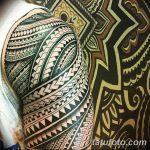 фото тату самоа от 10.10.2017 №112 - Samoan tattoo - tatufoto.com