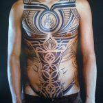 фото тату самоа от 10.10.2017 №113 - Samoan tattoo - tatufoto.com