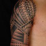 фото тату самоа от 10.10.2017 №119 - Samoan tattoo - tatufoto.com