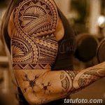 фото тату самоа от 10.10.2017 №124 - Samoan tattoo - tatufoto.com