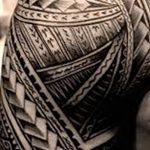 фото тату самоа от 10.10.2017 №125 - Samoan tattoo - tatufoto.com