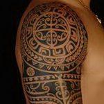 фото тату самоа от 10.10.2017 №128 - Samoan tattoo - tatufoto.com
