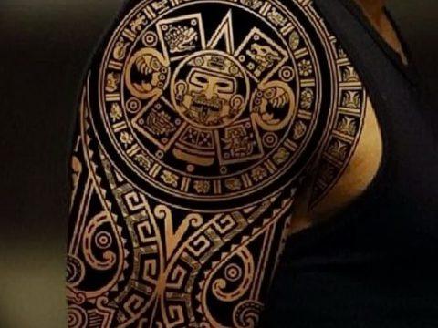 фото тату самоа от 10.10.2017 №131 - Samoan tattoo - tatufoto.com