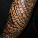 фото тату самоа от 10.10.2017 №147 - Samoan tattoo - tatufoto.com